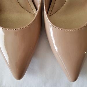 Comfort Plus by Predictions Nude Heels Sz 7 NWT